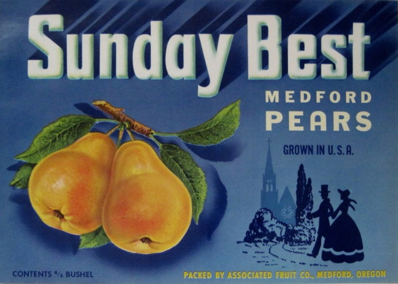 Associated Fruit Label