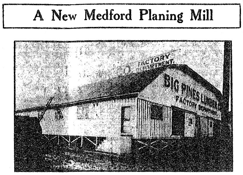 Medford Mail Tribune, January 1, 1911