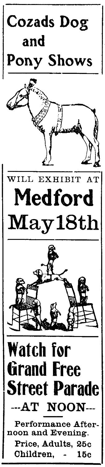 Medford Mail, May 12, 1905