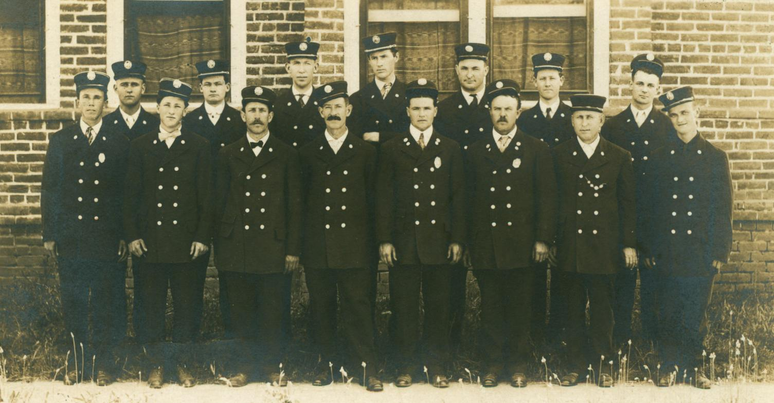 Medford Firemen 1910--March 13, 1930 Medford News