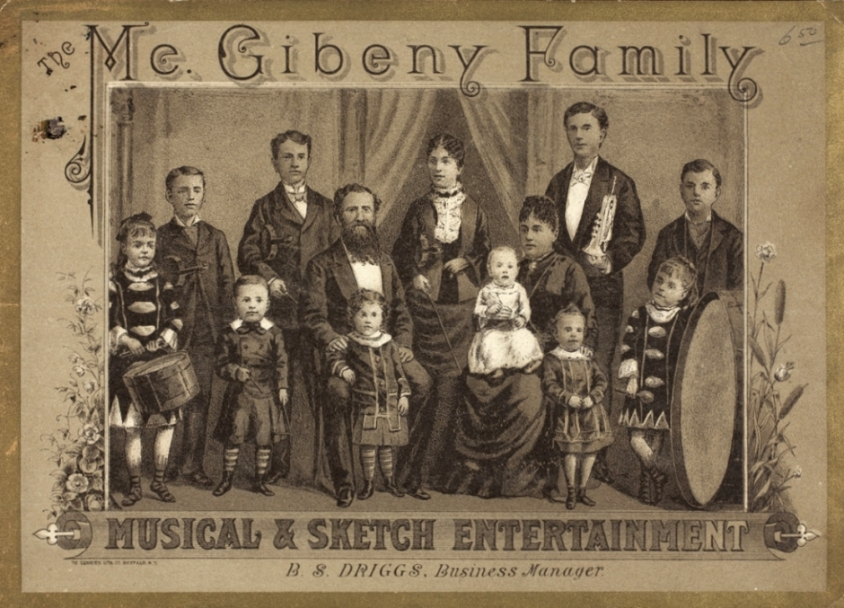 McGibeny Family 1886 Henry Ford Museum