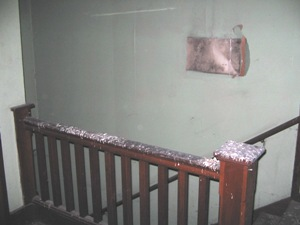 South stairwell, 2006