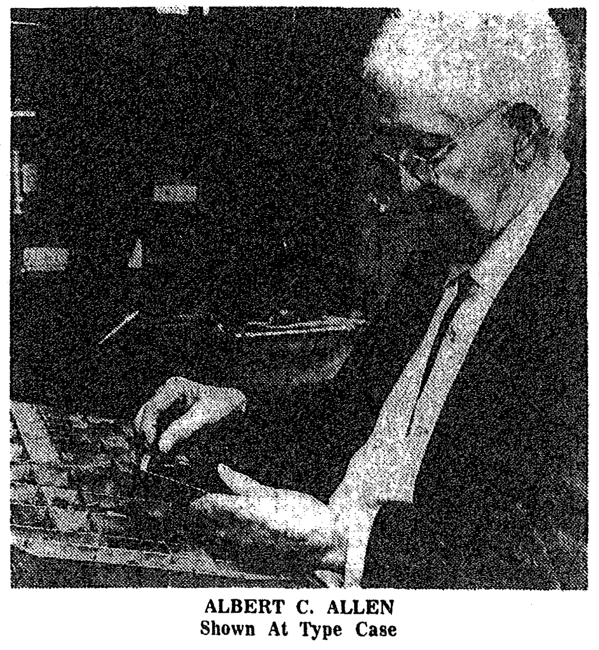 Albert C. Allen, November 30, 1972 Medford Mail Tribune