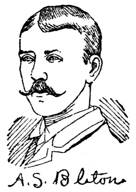 A. S. Bliton, St. Paul Daily Globe, Jan 26, 1889, pg 9