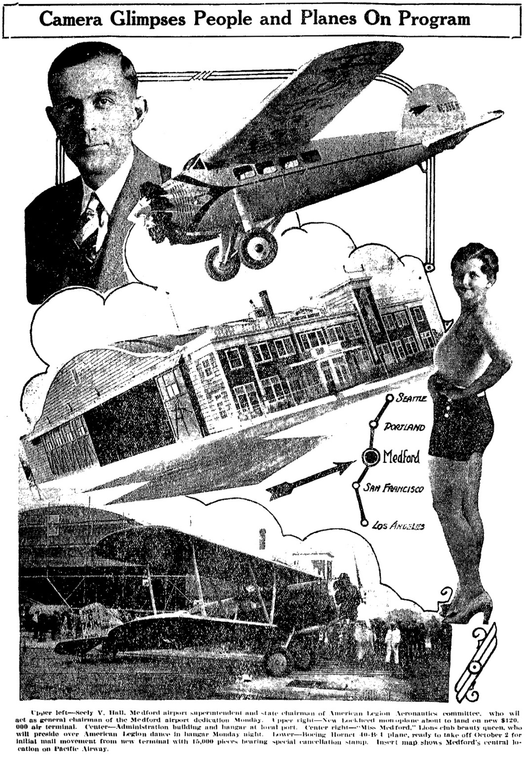 August 3, 1930 Medford Mail Tribune