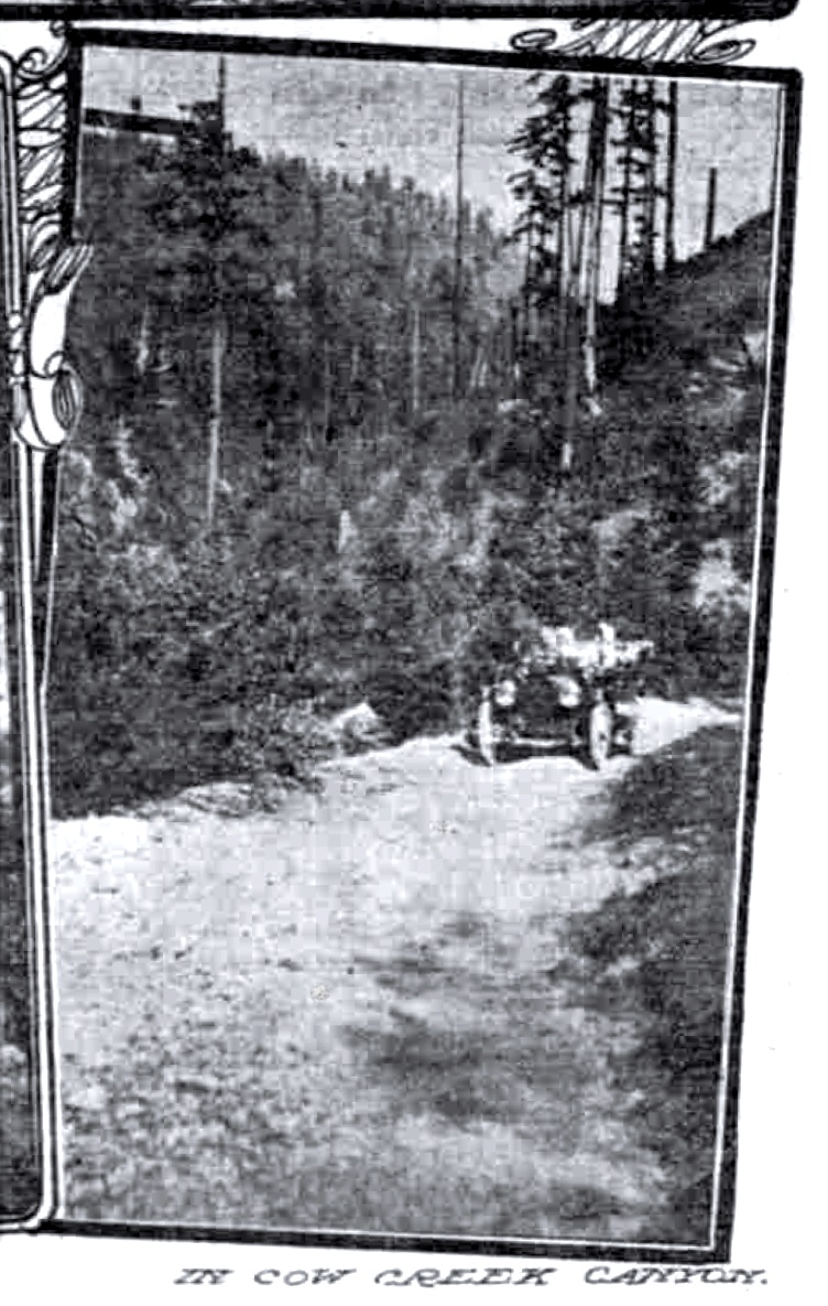 Cow Creek Canyon May 21, 1911 Sunday Oregonian