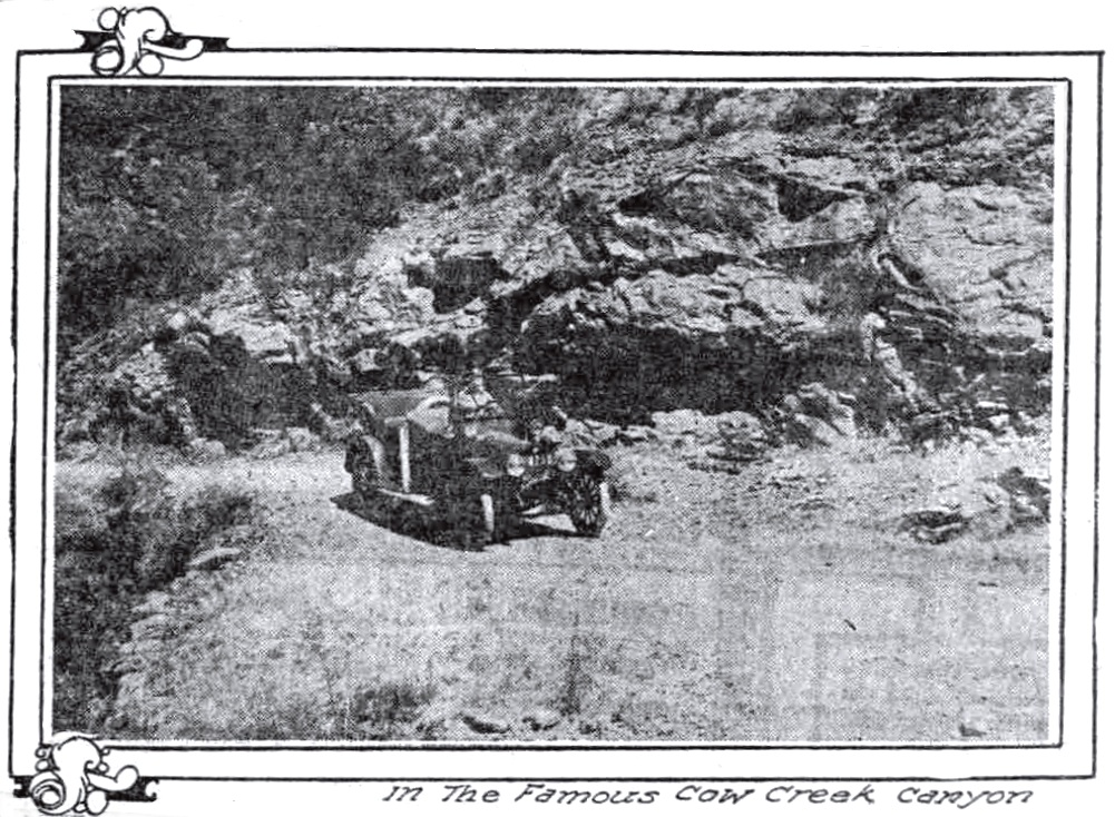 Cow Creek Canyon August 30, 1914 Sunday Oregonian
