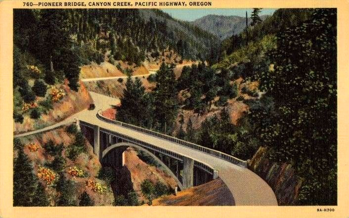 Canyon Bridge, 1939.