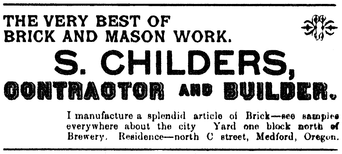 Medford Mail, May 7, 1897