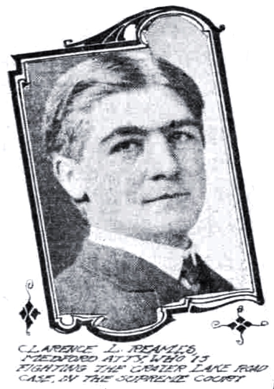Clarence L. Reames, February 6, 1910 Sunday Oregonian