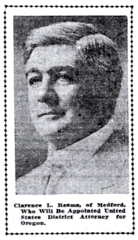 Clarence L. Reames, April 13, 1913 Sunday Oregonian
