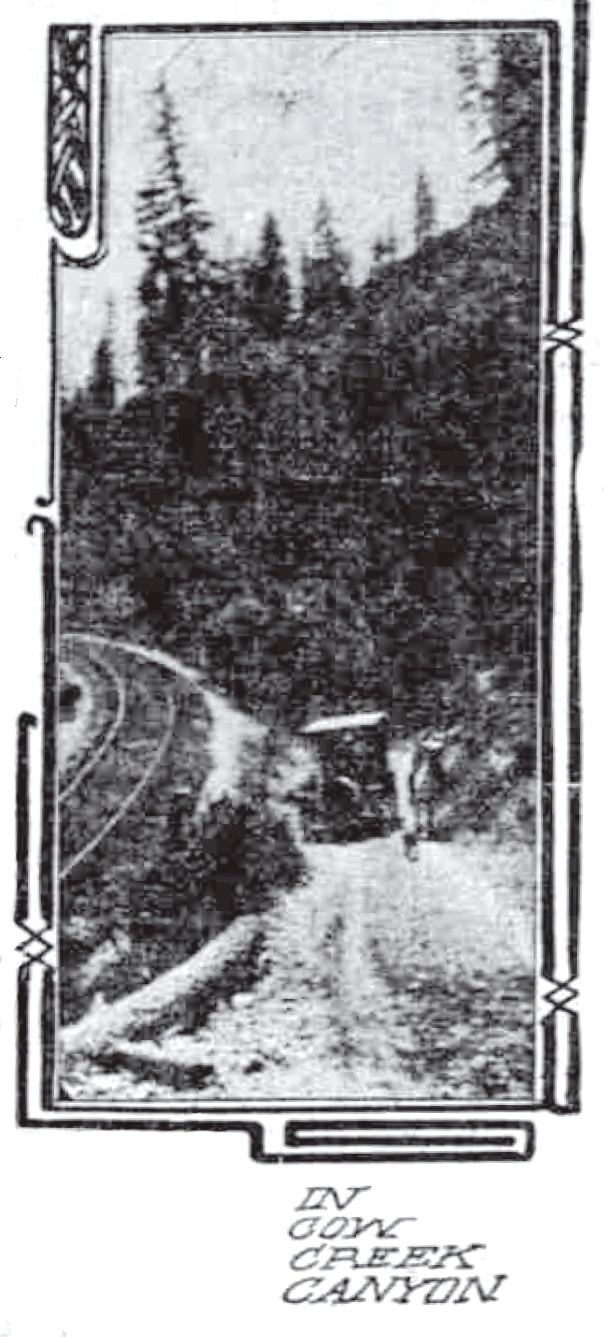 Cow Creek Canyon August 28, 1910 Sunday Oregonian