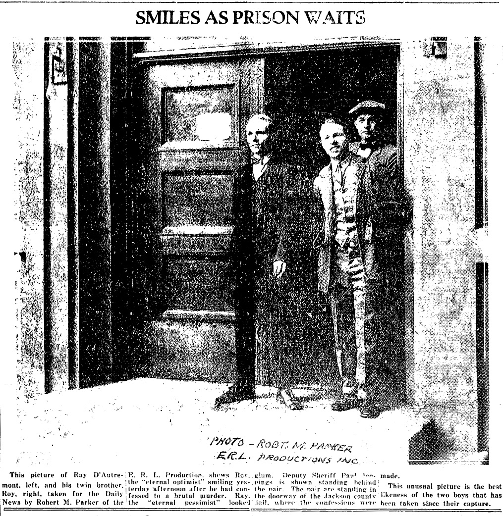 Medford Daily News, June 24, 1927, page 1