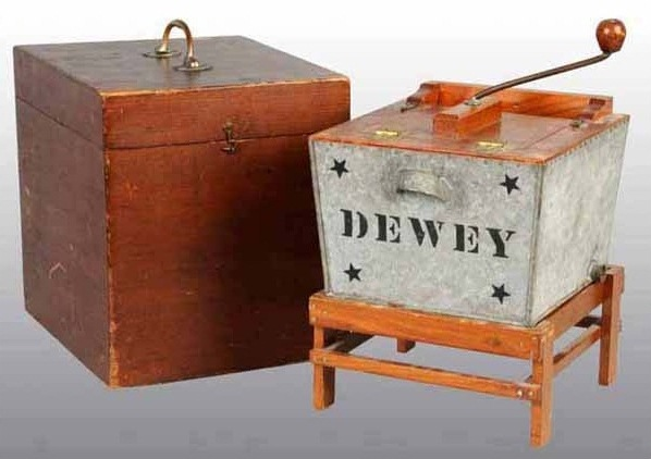 Dewey Washing Machine Patent Model