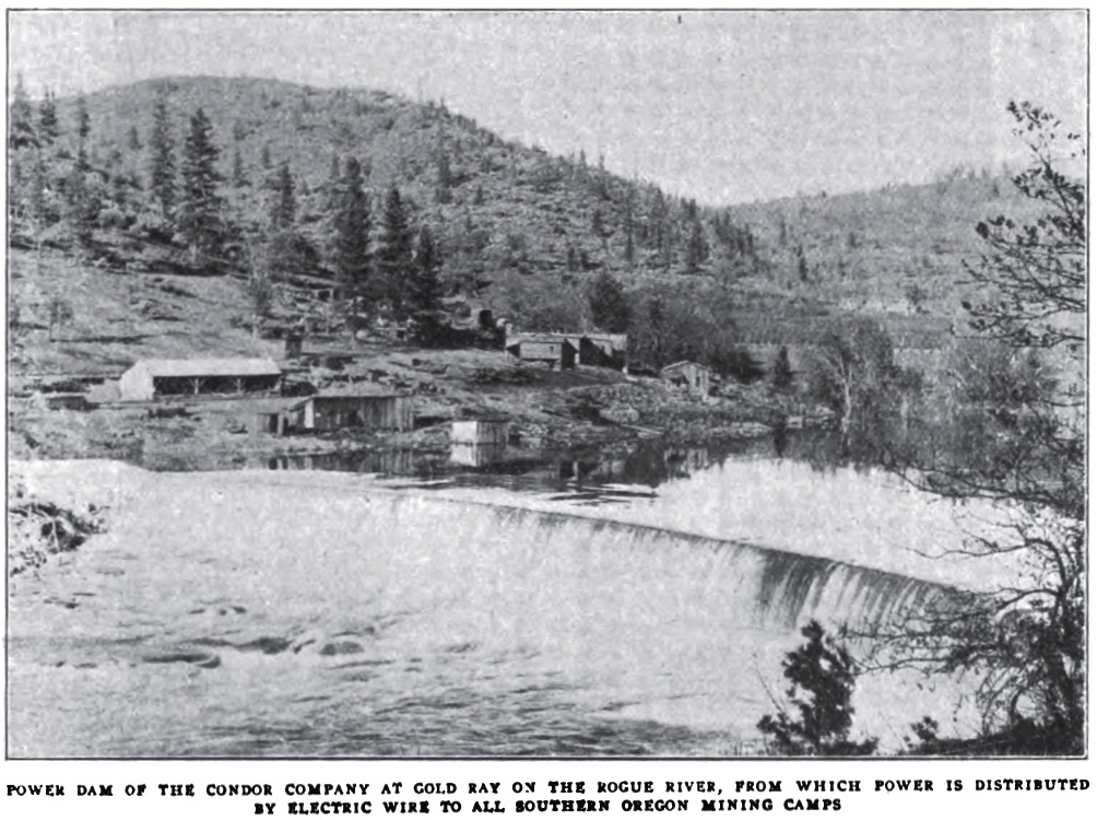 Gold Ray Dam, August 1906 Sunset magazine, page 141