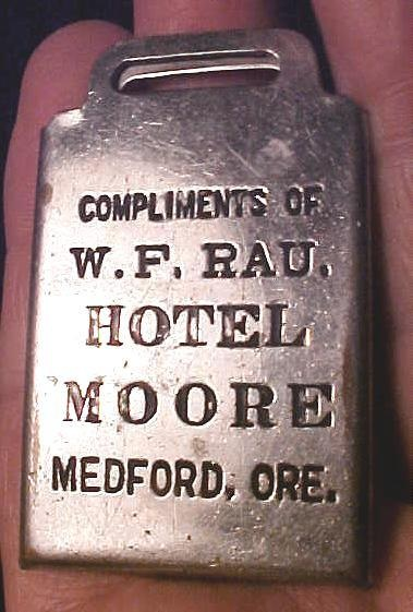 Hotel Moore Luggage Tag