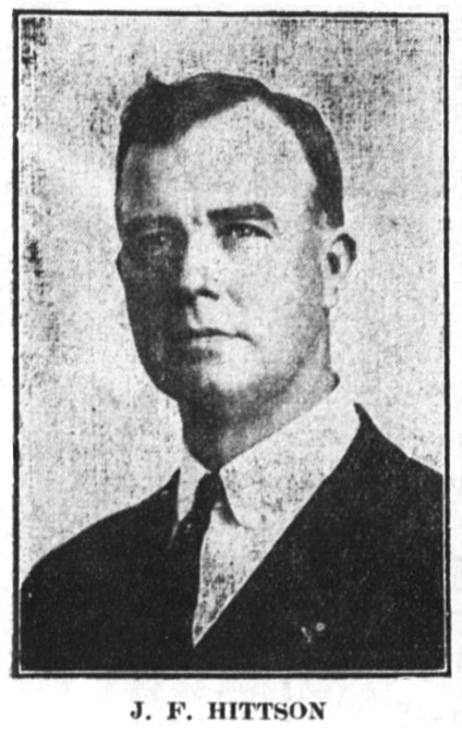 J. F. Hittson, October 29, 1914 Ashland Tidings