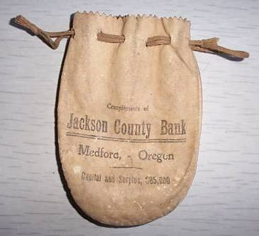 Jackson County Bank pouch