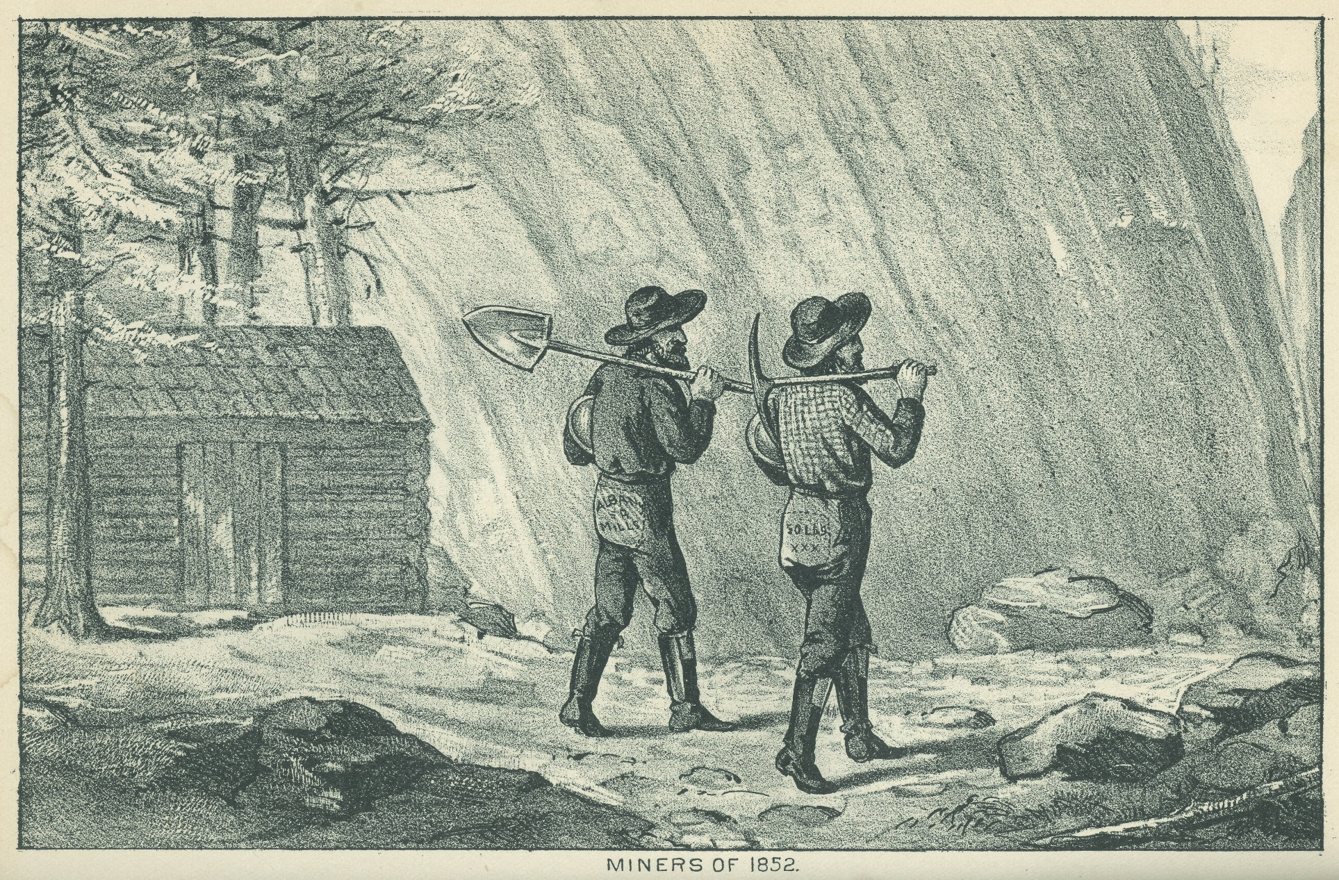 Miners, Reminiscences of an Old Timer, 1889