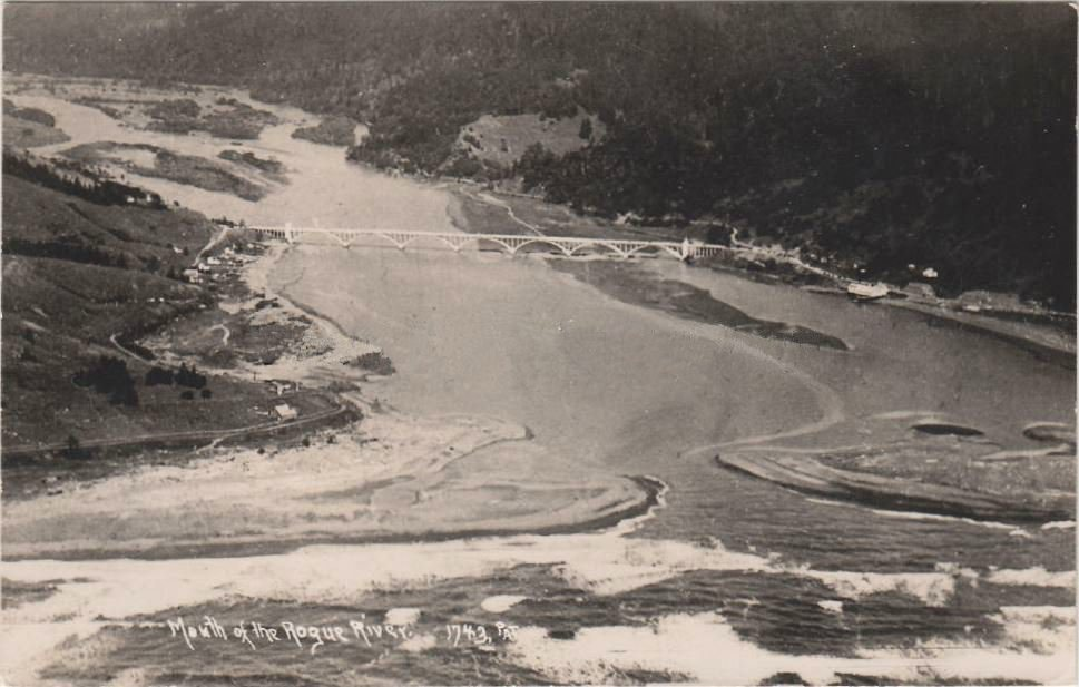 The Mouth of the Rogue River in the 1930s