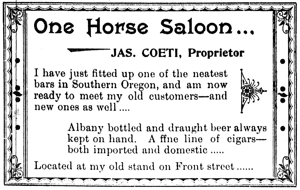 August 7, 1896 Medford Mail