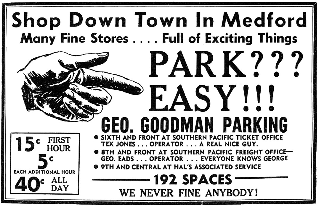 Medford Mail Tribune, May 17, 1953, page B6