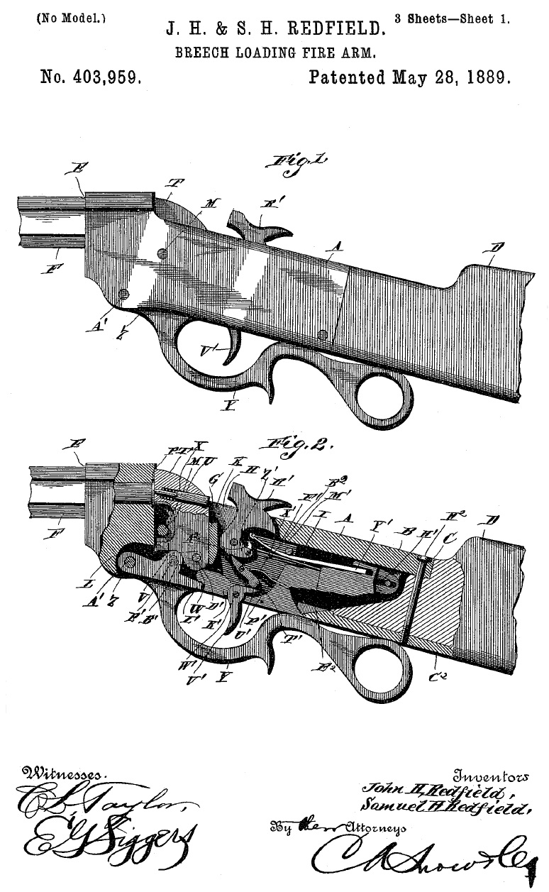 Redfield Patent