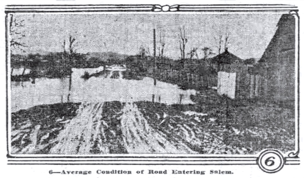 A road in Salem, January 11, 1914 Sunday Oregonian.