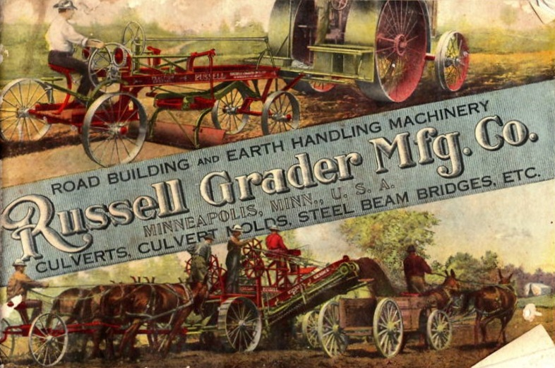 An 1890s road equipment catalog.