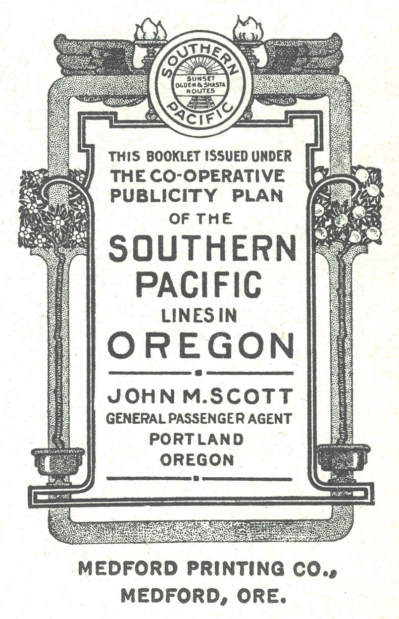 Southern Pacific Cooperative Publicity bug, 1914