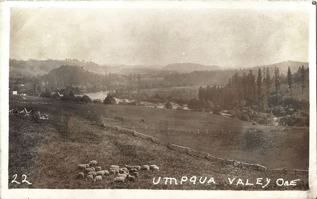Umpqua Valley circa 1910.