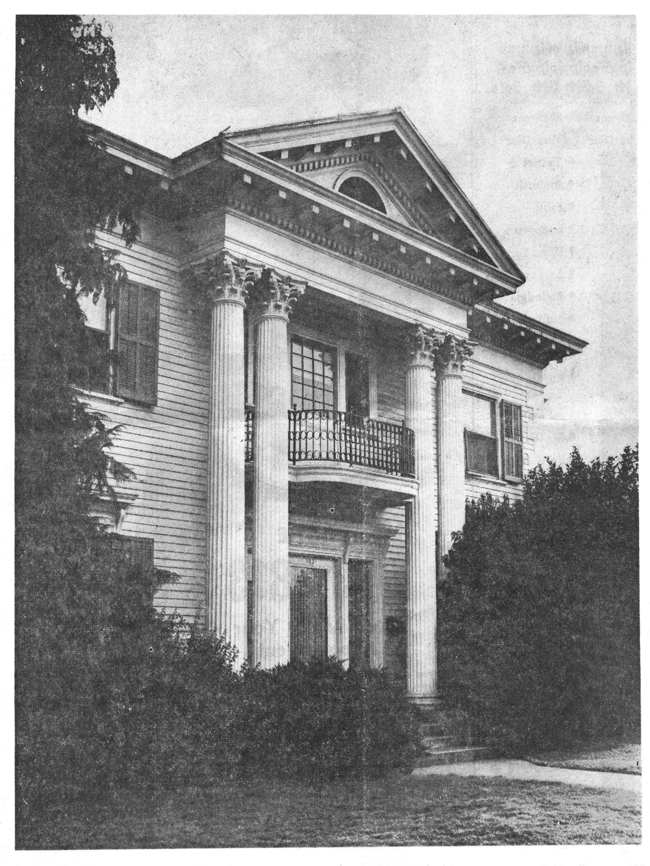 Vawter House, December 10, 1967 Medford Mail Tribune