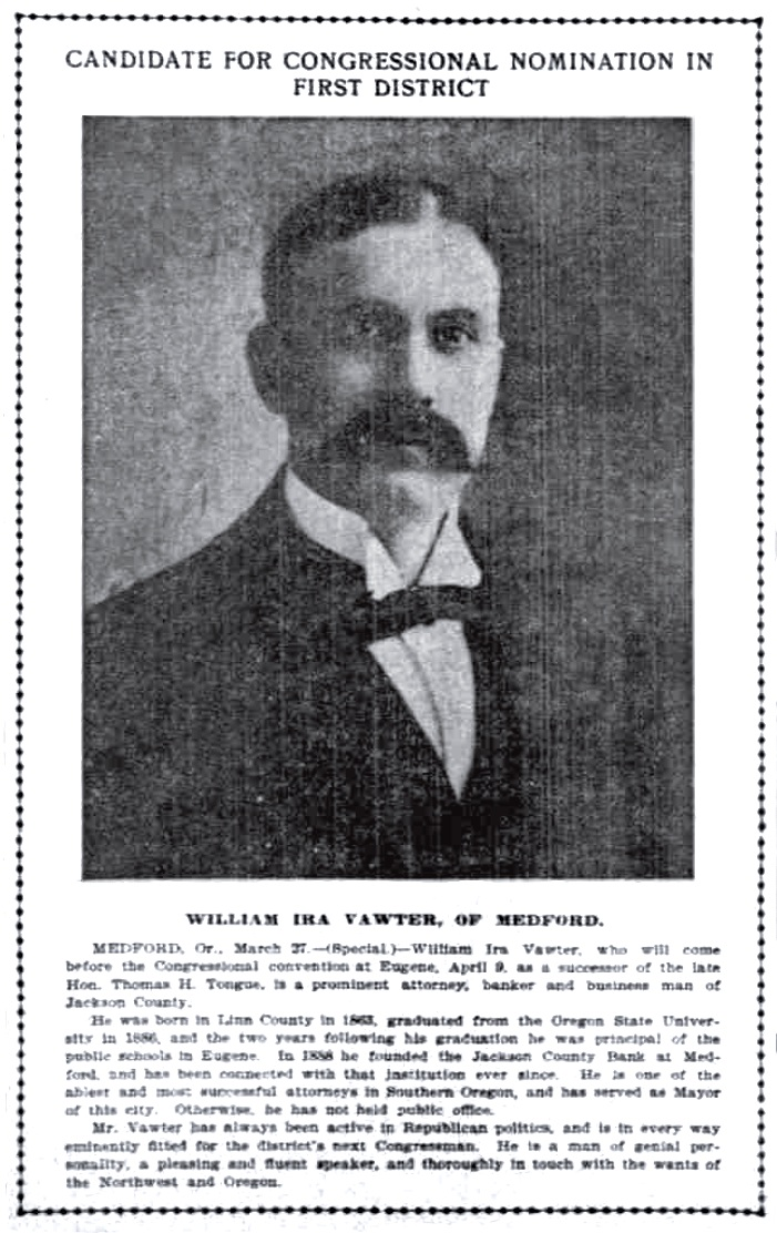 William I. Vawter, March 28, 1903 Oregonian