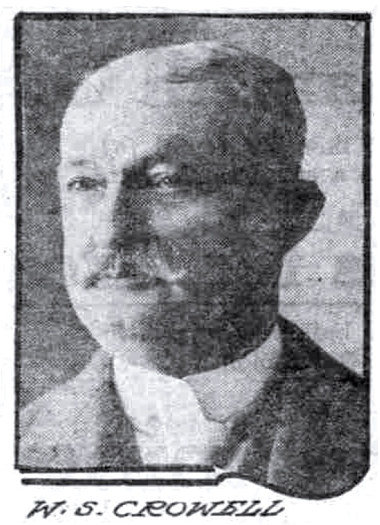 W. S. Crowell, March 20, 1910 Sunday Oregonian